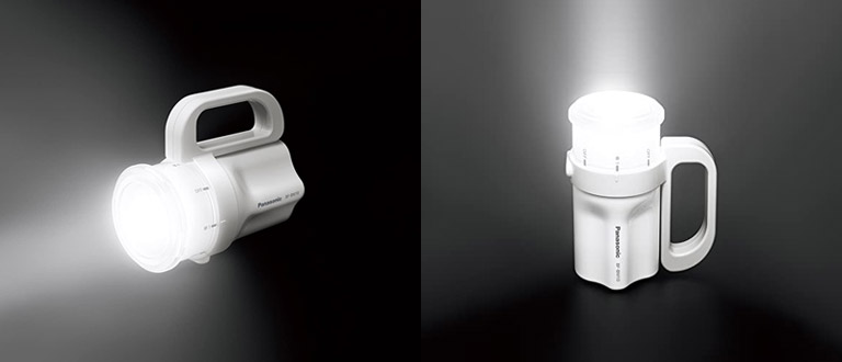 電池がどれでもライトはランタンとしても使用可能