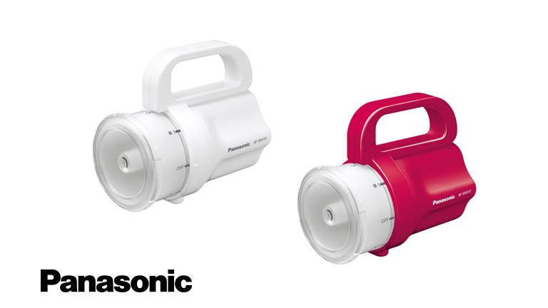 防災用の懐中電灯「電池がどれでもライト」Panasonic