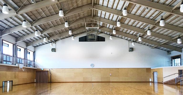 避難所(体育館)のイメージ